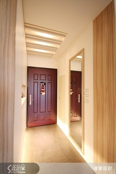 30坪新成屋(5年以下)_現代風走廊案例圖片_達譽設計_達譽_03之1