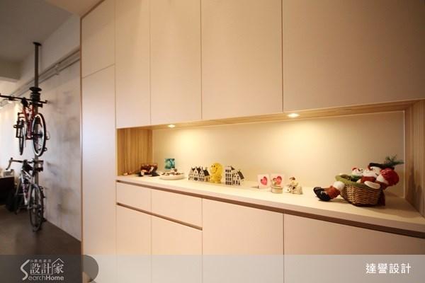 30坪新成屋(5年以下)_現代風玄關案例圖片_達譽設計_達譽_03之3