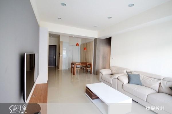 30坪新成屋(5年以下)_北歐風客廳案例圖片_達譽設計_達譽_04之4