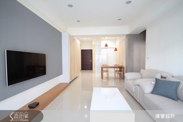 30坪新成屋(5年以下)_北歐風客廳案例圖片_達譽設計_達譽_04之3