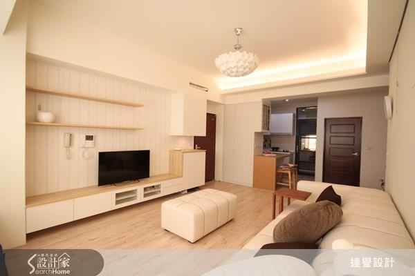 25坪新成屋(5年以下)_北歐風客廳案例圖片_達譽設計_達譽_05之4