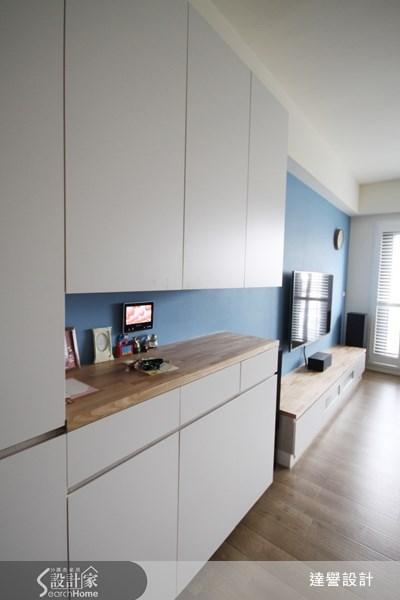 30坪新成屋(5年以下)_北歐風客廳案例圖片_達譽設計_達譽_06之4
