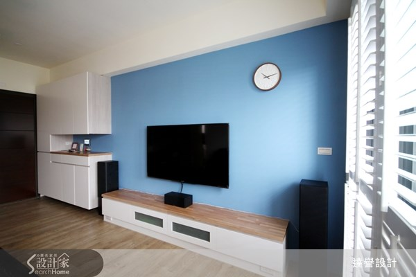 30坪新成屋(5年以下)_北歐風客廳案例圖片_達譽設計_達譽_06之3