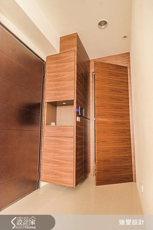 40坪新成屋(5年以下)_療癒風玄關案例圖片_達譽設計_達譽_08之1