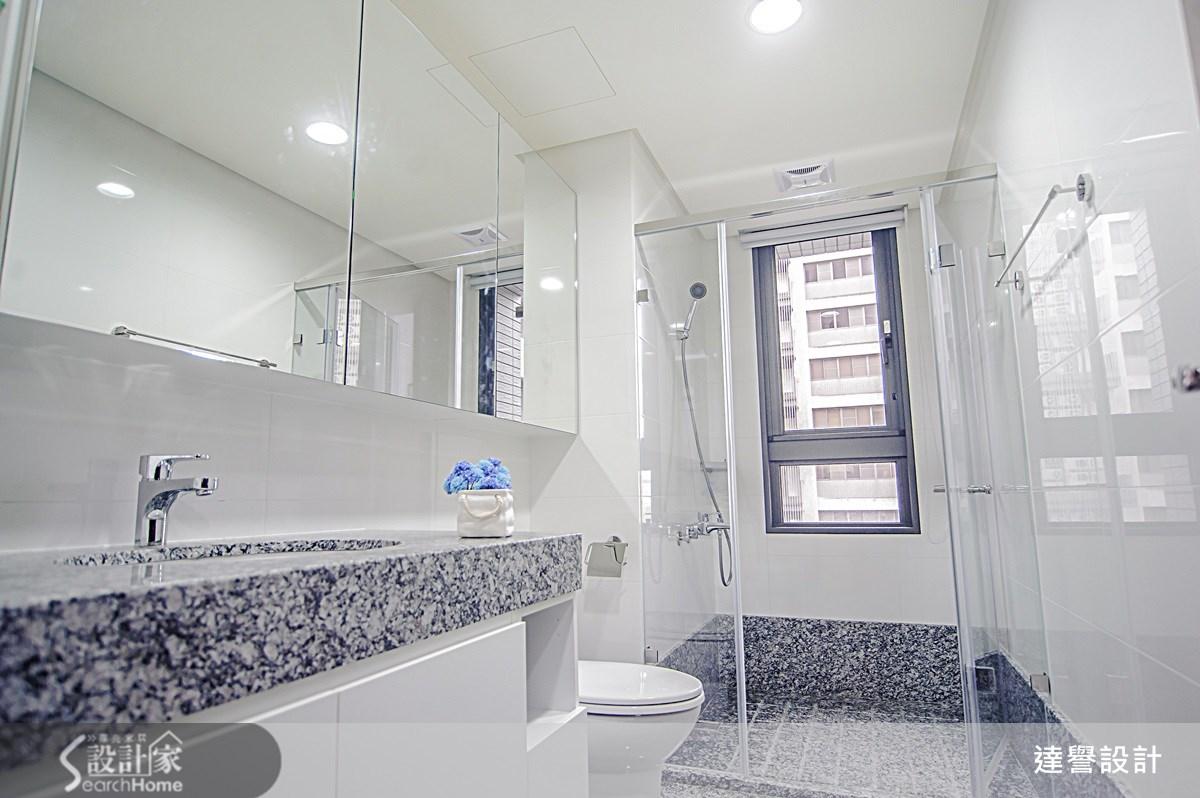 40坪新成屋(5年以下)_療癒風浴室案例圖片_達譽設計_達譽_08之16