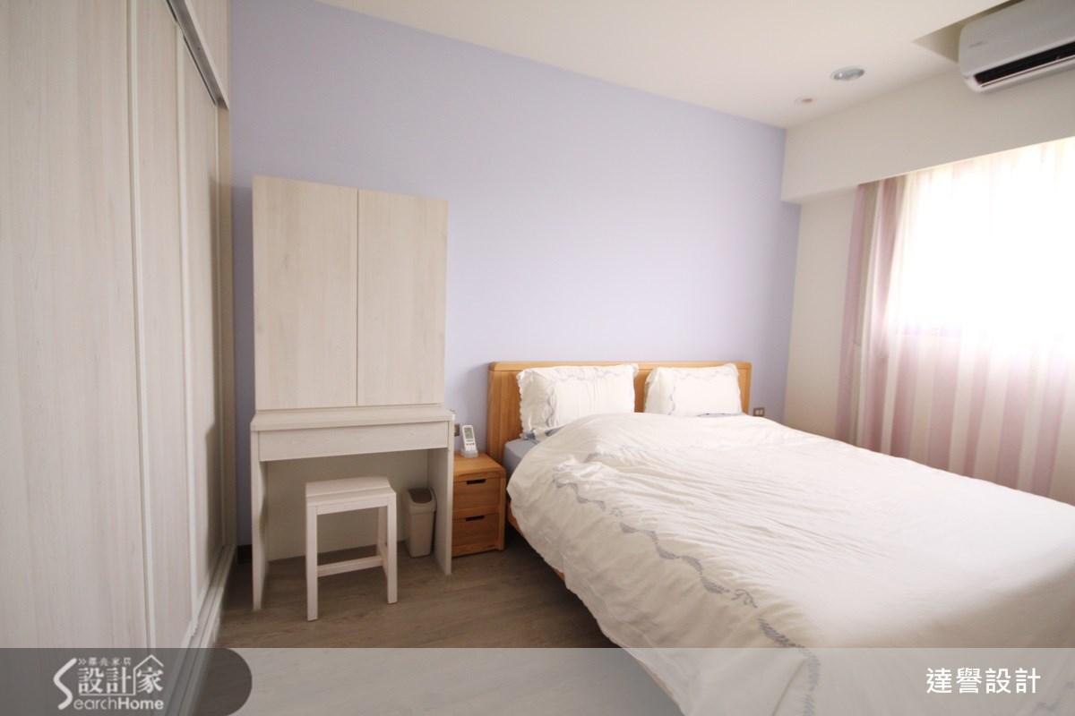 30坪新成屋(5年以下)_北歐風臥室案例圖片_達譽設計_達譽_09之17