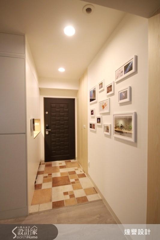 30坪新成屋(5年以下)_北歐風走廊案例圖片_達譽設計_達譽_09之1