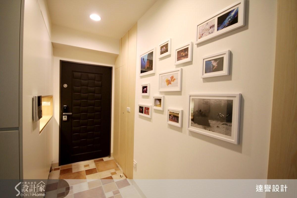 30坪新成屋(5年以下)_北歐風走廊案例圖片_達譽設計_達譽_09之2