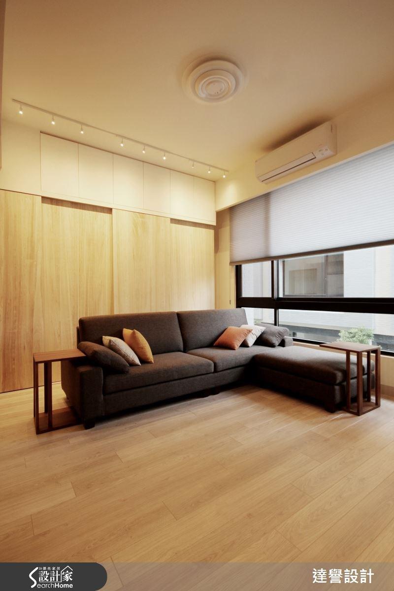 120坪新成屋(5年以下)_北歐風客廳案例圖片_達譽設計_達譽_10之1