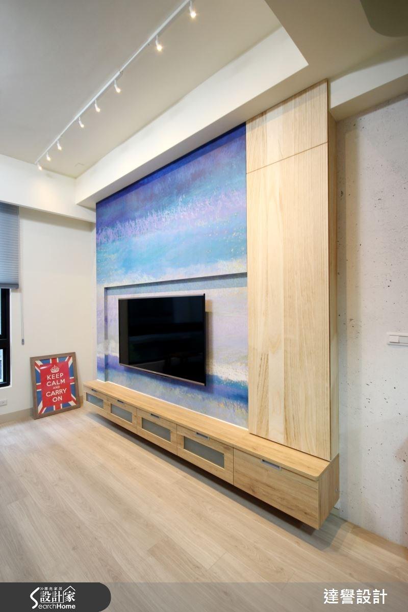 120坪新成屋(5年以下)_北歐風客廳案例圖片_達譽設計_達譽_10之2