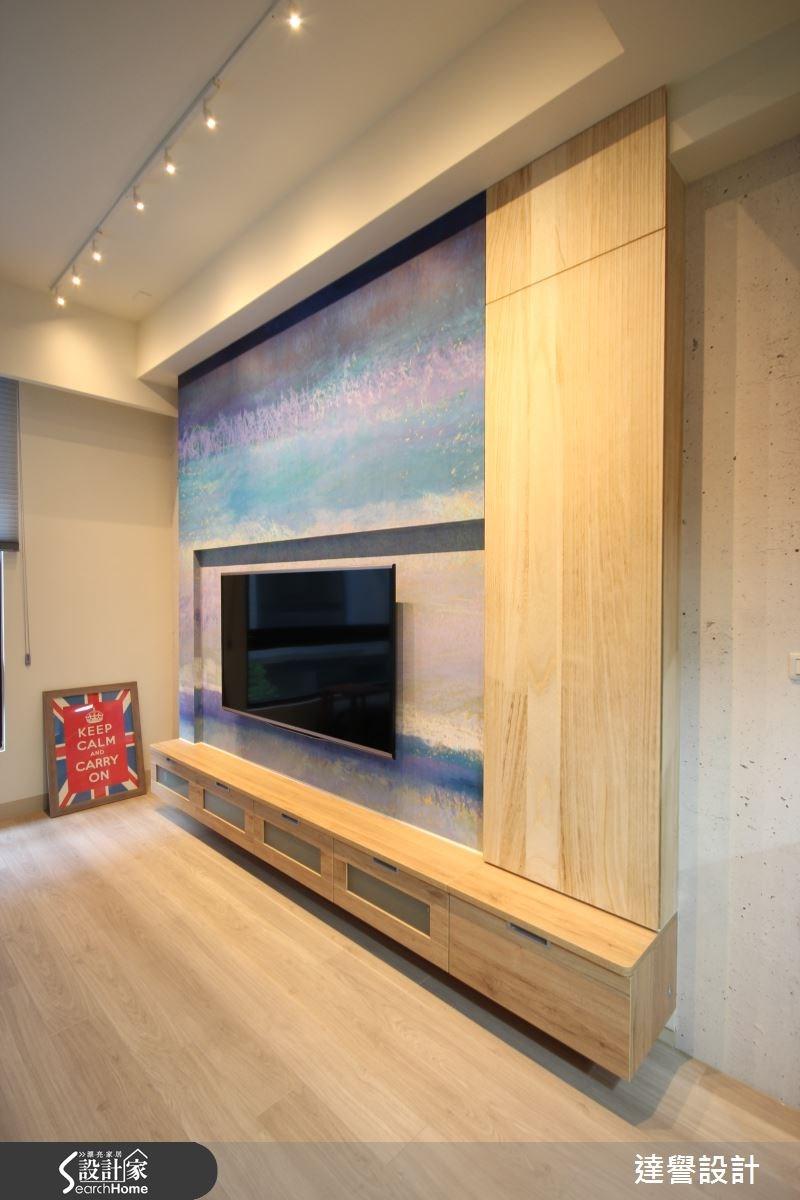 120坪新成屋(5年以下)_北歐風客廳案例圖片_達譽設計_達譽_10之4
