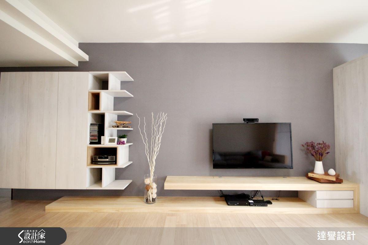 40坪新成屋(5年以下)_北歐風客廳案例圖片_達譽設計_達譽_11之2
