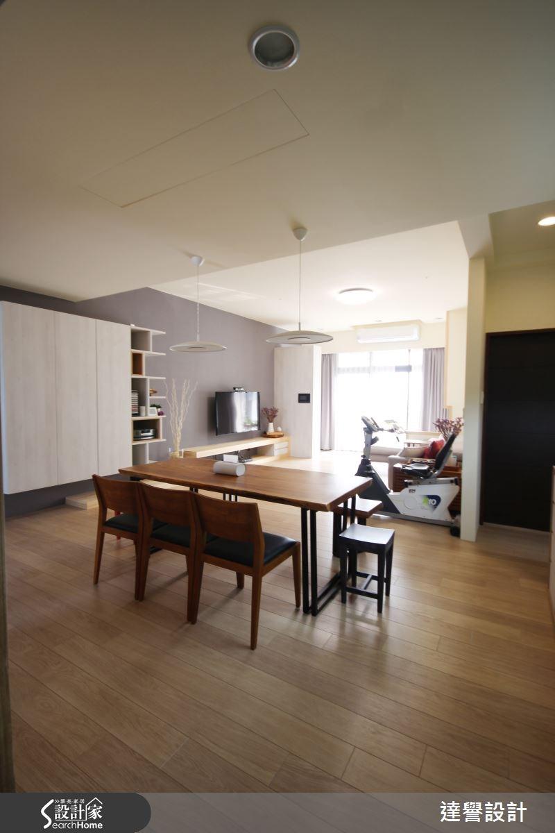 40坪新成屋(5年以下)_北歐風餐廳案例圖片_達譽設計_達譽_11之4
