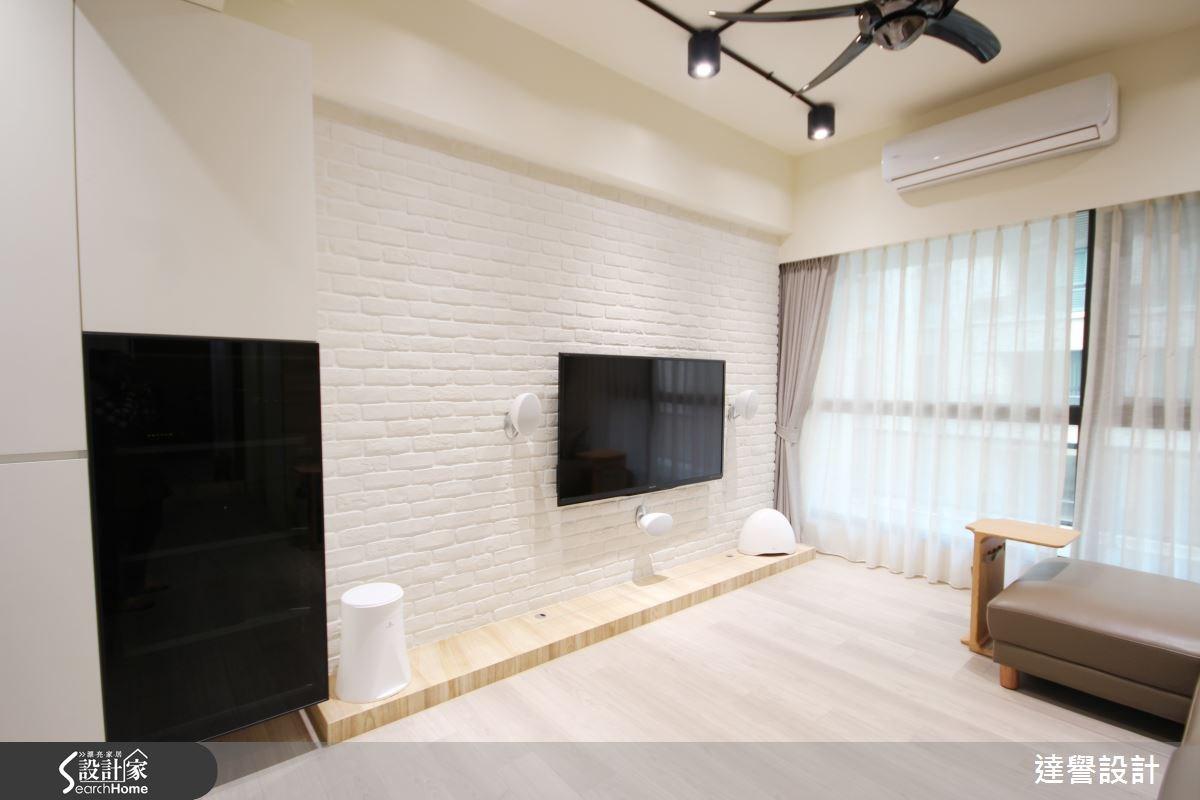 40坪新成屋(5年以下)_北歐風客廳案例圖片_達譽設計_達譽_12之2