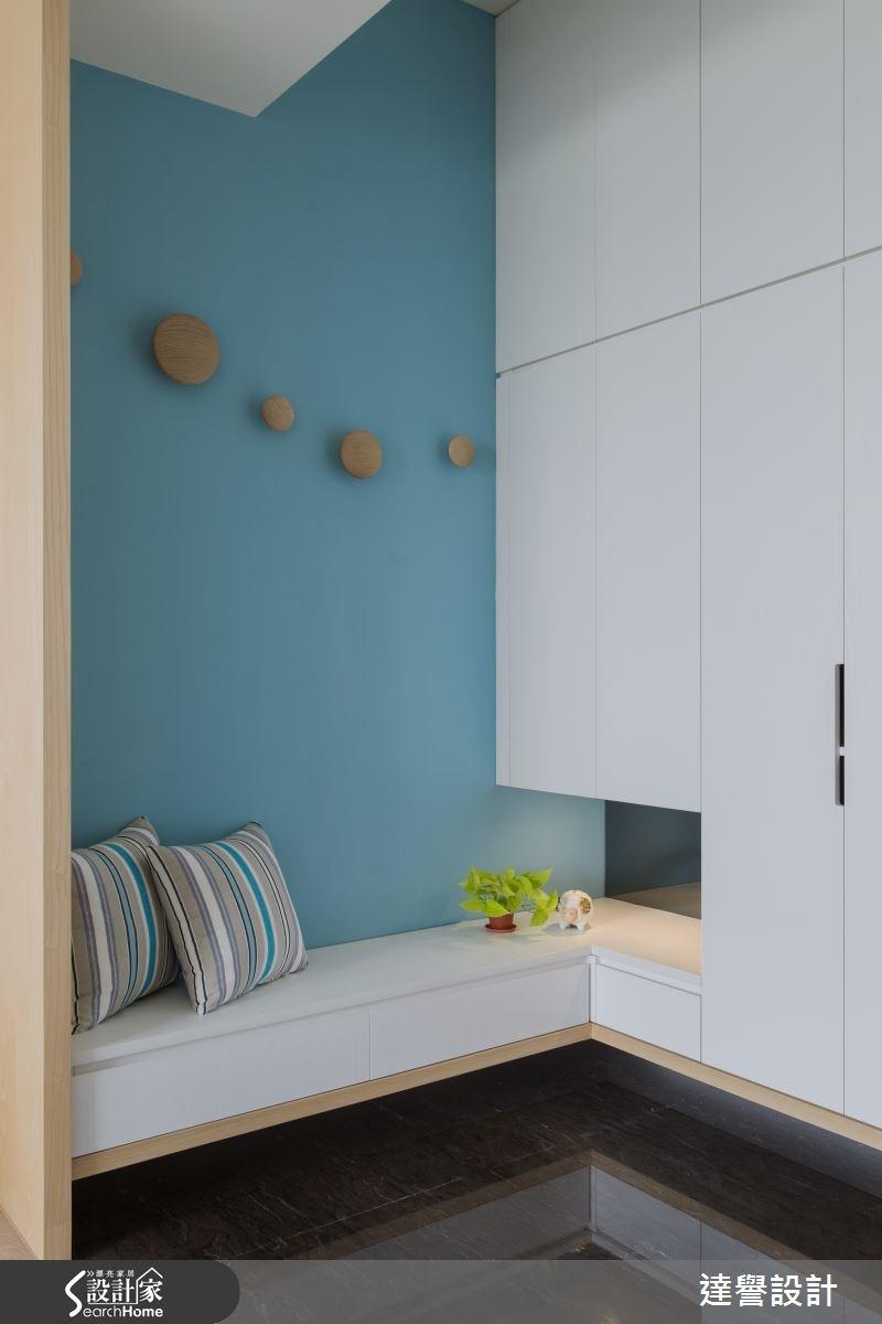 45坪新成屋(5年以下)_北歐風玄關案例圖片_達譽設計_達譽_14之1