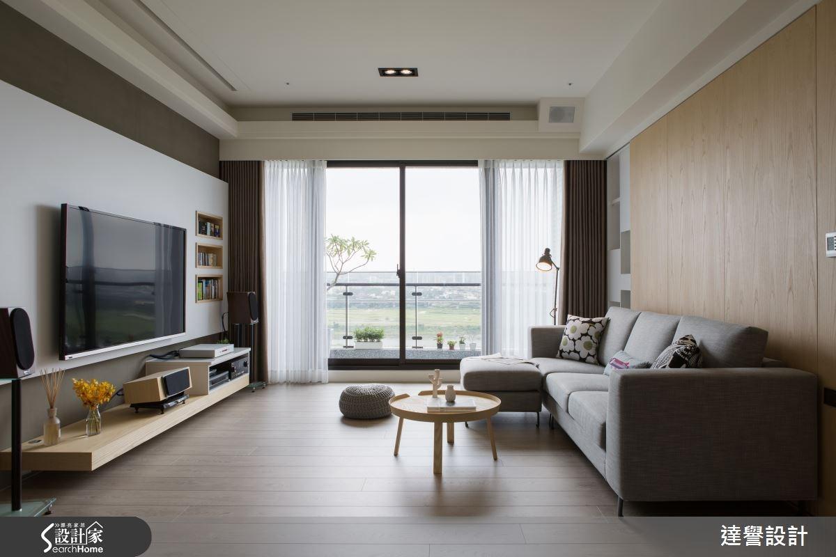 45坪新成屋(5年以下)_北歐風客廳案例圖片_達譽設計_達譽_14之4