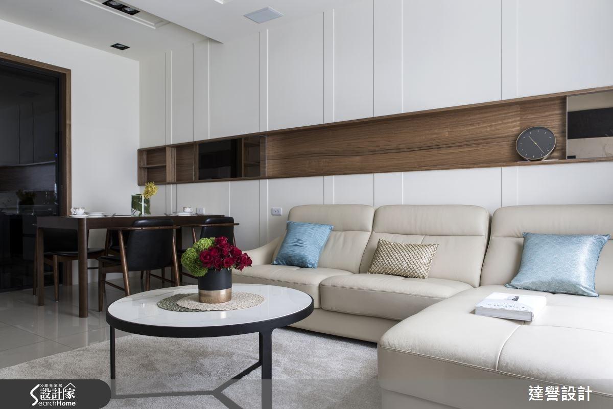 80坪新成屋(5年以下)_現代風客廳案例圖片_達譽設計_達譽_20之3