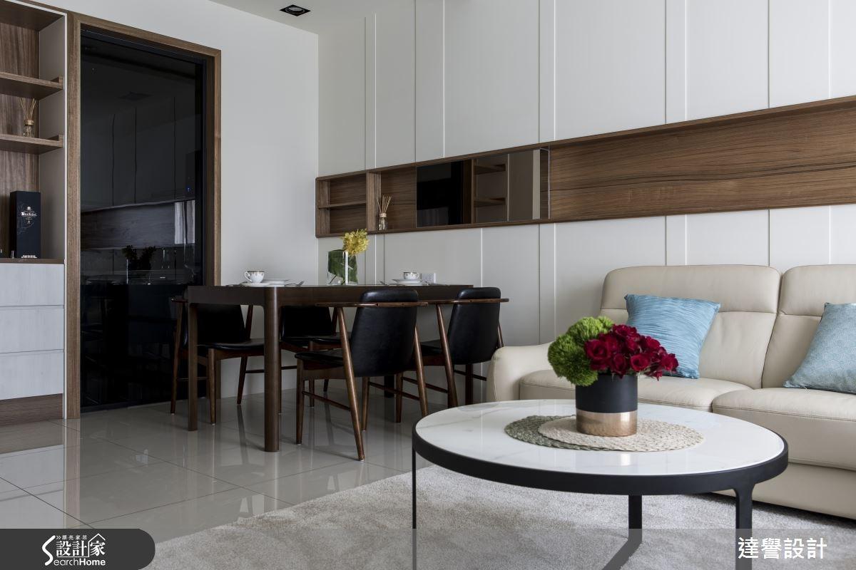 80坪新成屋(5年以下)_現代風客廳案例圖片_達譽設計_達譽_20之4