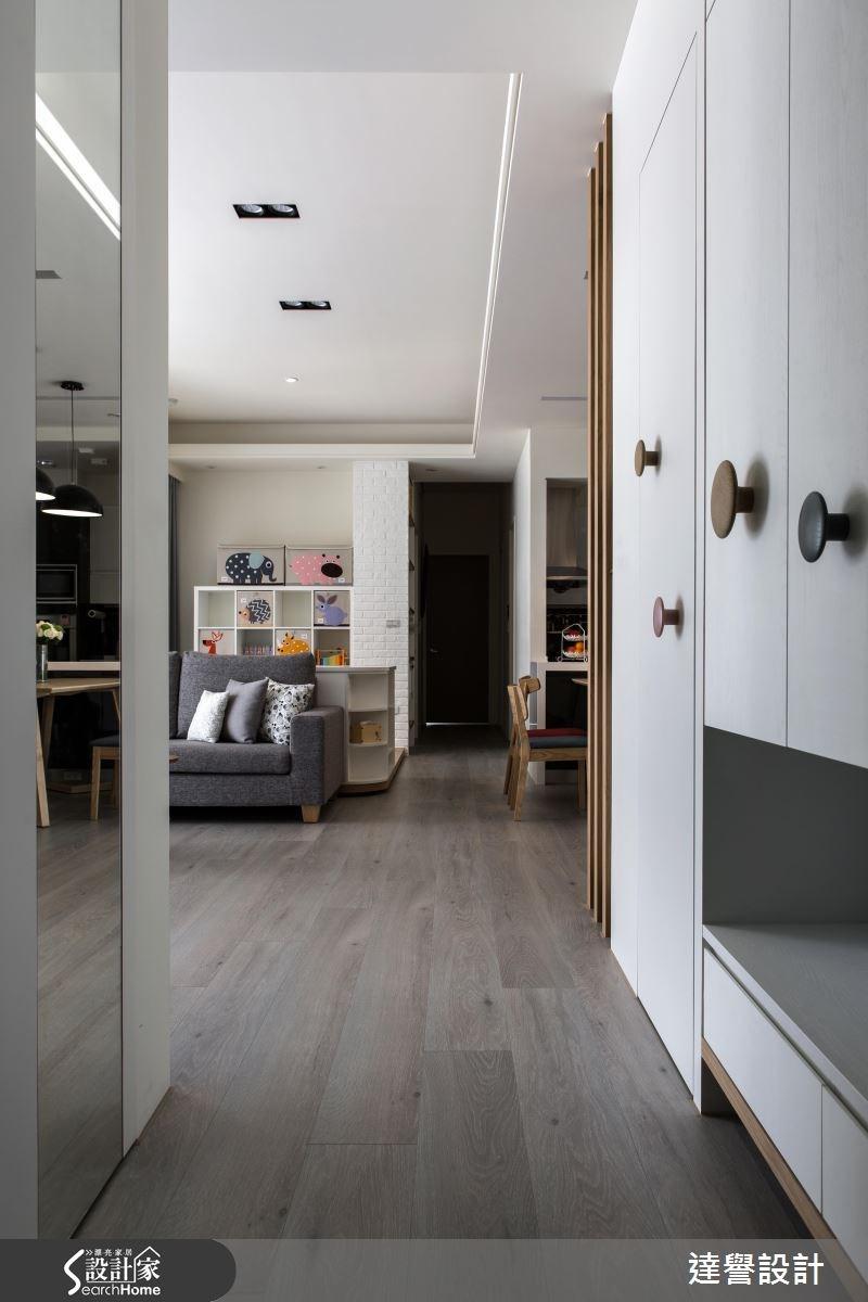 40坪新成屋(5年以下)_北歐風案例圖片_達譽設計_達譽_23之1