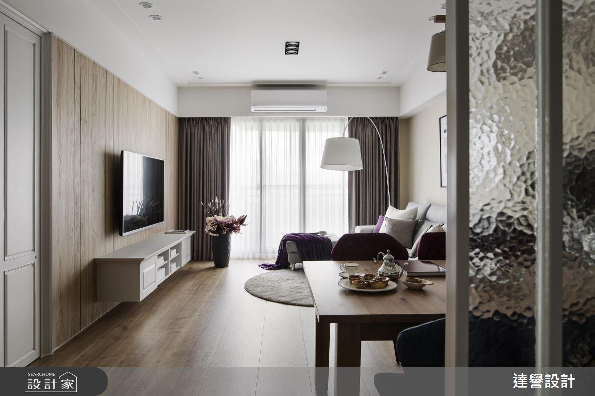 35坪新成屋(5年以下)_美式風案例圖片_達譽設計_達譽_30之2