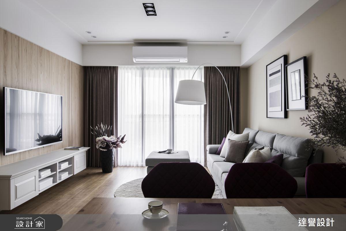 35坪新成屋(5年以下)_美式風案例圖片_達譽設計_達譽_30之11