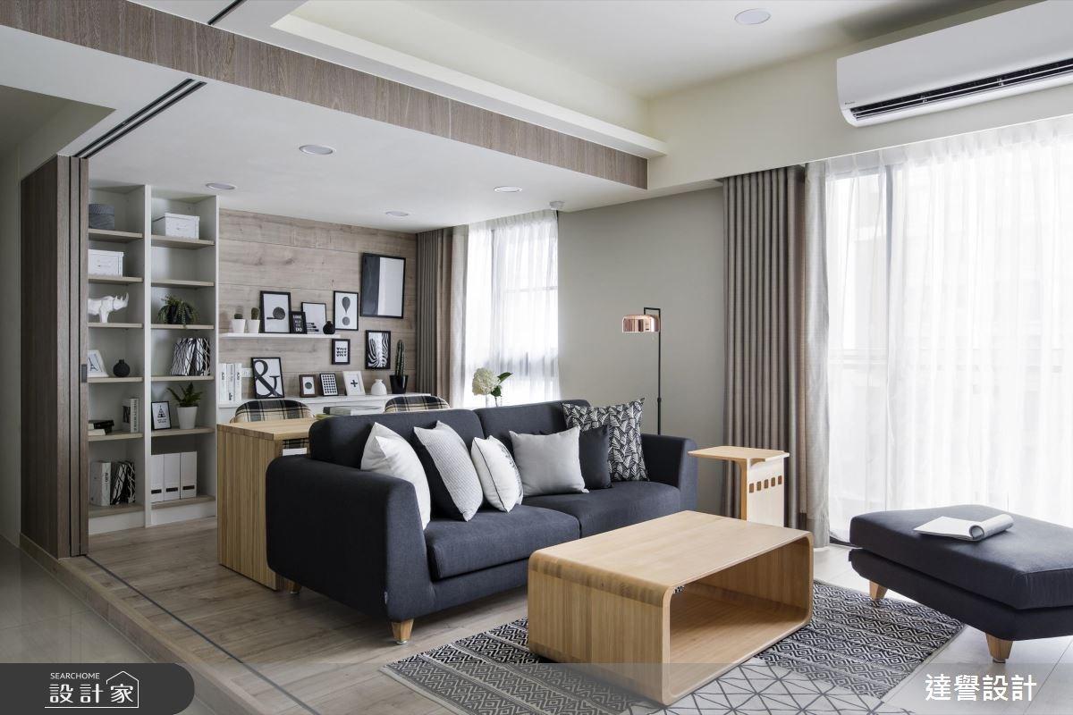 24坪新成屋(5年以下)_北歐風案例圖片_達譽設計_達譽_32之4