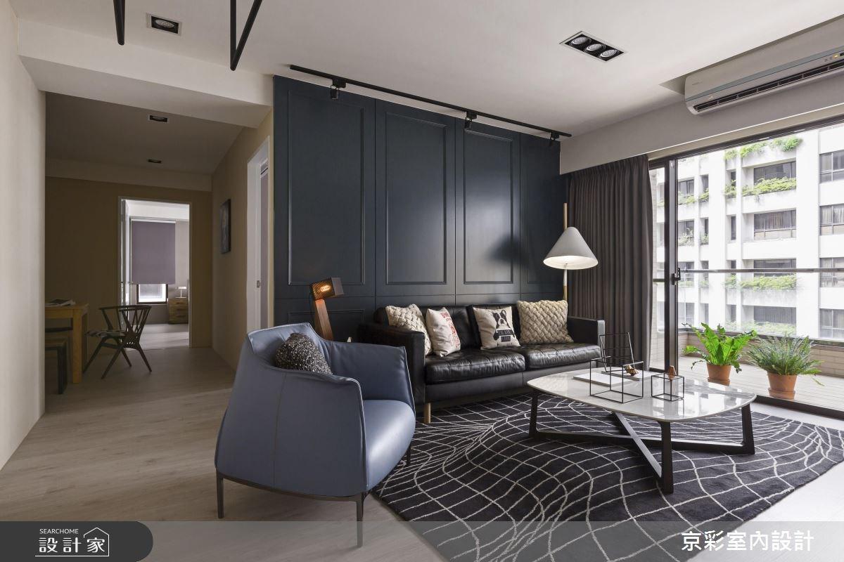 32坪新成屋(5年以下)_工業風案例圖片_京彩室內設計有限公司_京彩_10之2
