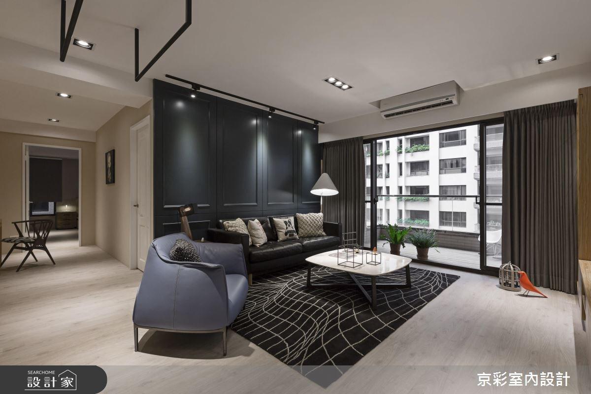 32坪新成屋(5年以下)_工業風案例圖片_京彩室內設計有限公司_京彩_10之3