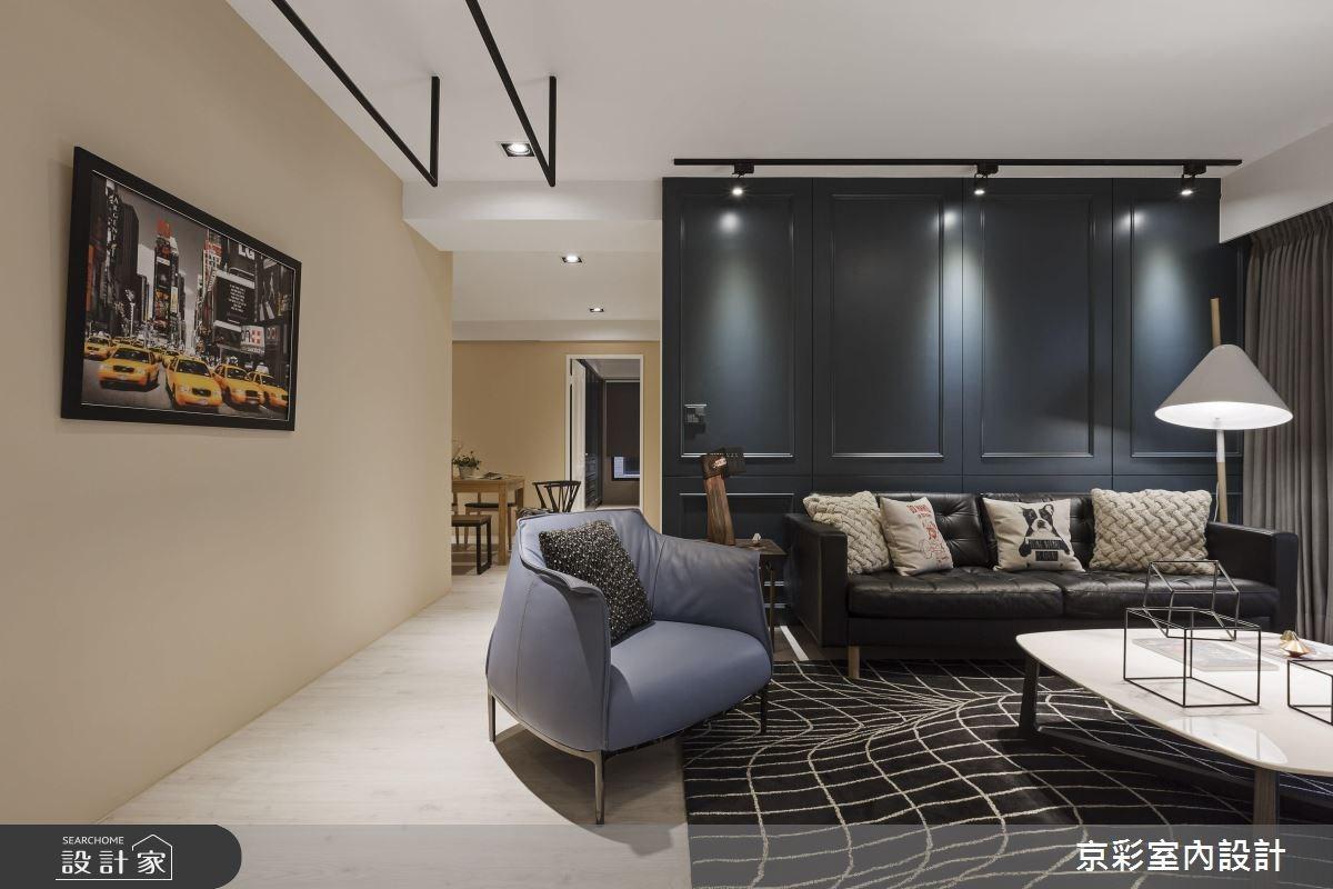 32坪新成屋(5年以下)_工業風案例圖片_京彩室內設計有限公司_京彩_10之4