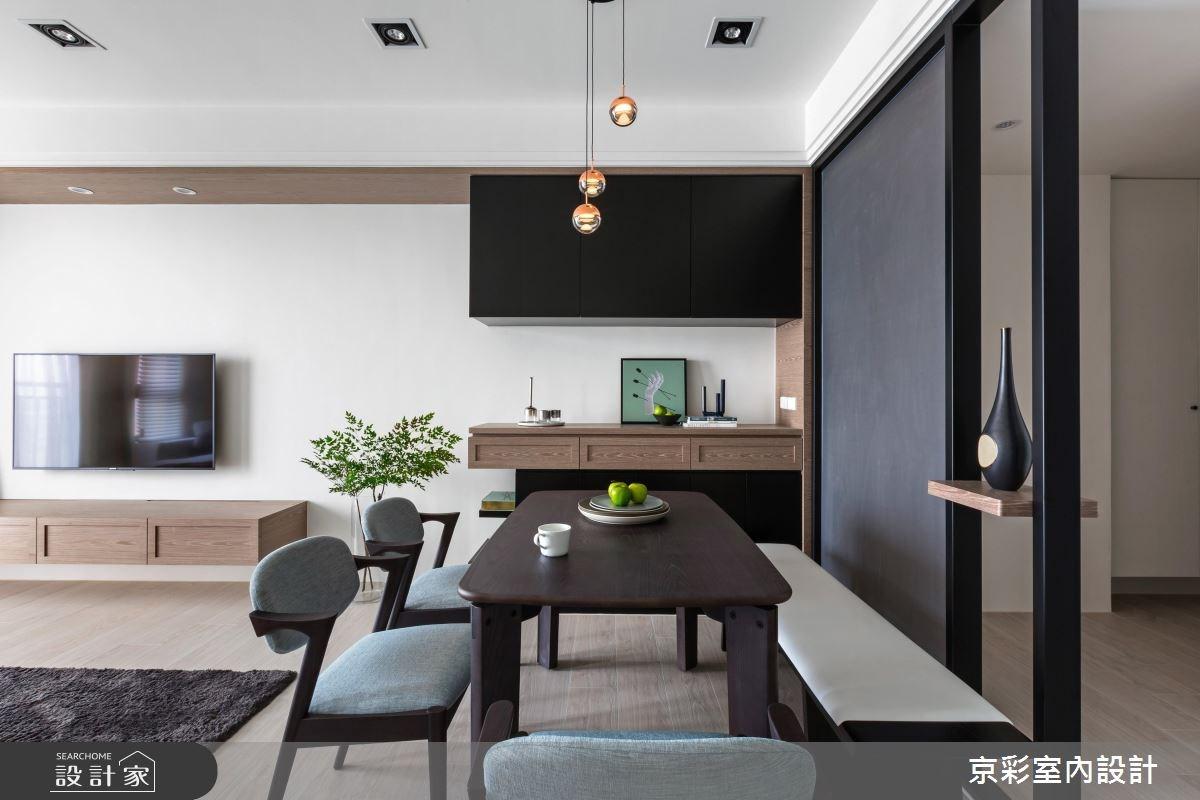 28坪新成屋(5年以下)_現代風案例圖片_京彩室內設計有限公司_京彩_15之2