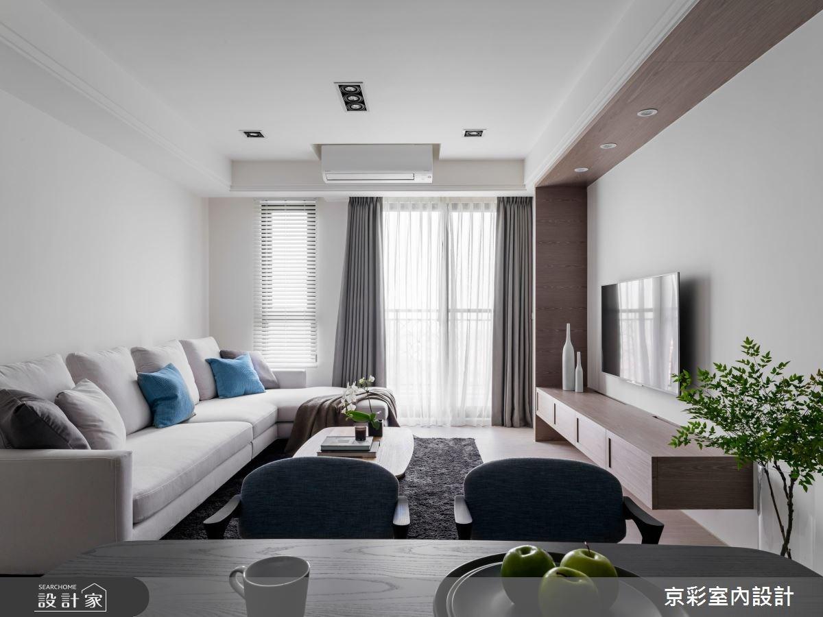28坪新成屋(5年以下)_現代風案例圖片_京彩室內設計有限公司_京彩_15之6