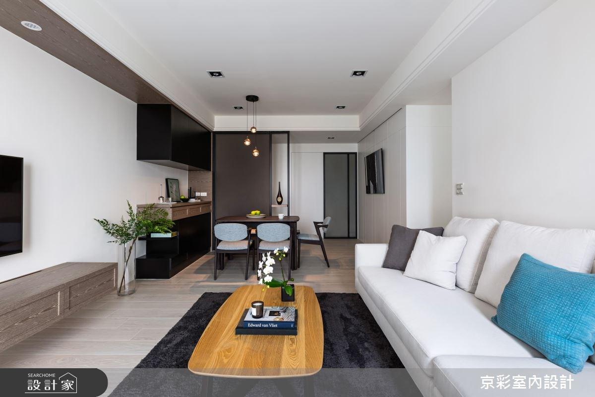 28坪新成屋(5年以下)_現代風案例圖片_京彩室內設計有限公司_京彩_15之7