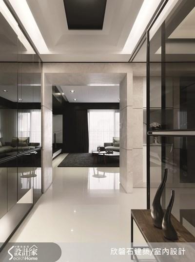 86坪新成屋(5年以下)_現代風走廊案例圖片_欣磐石建築.空間規劃事務所_欣磐石_12之2