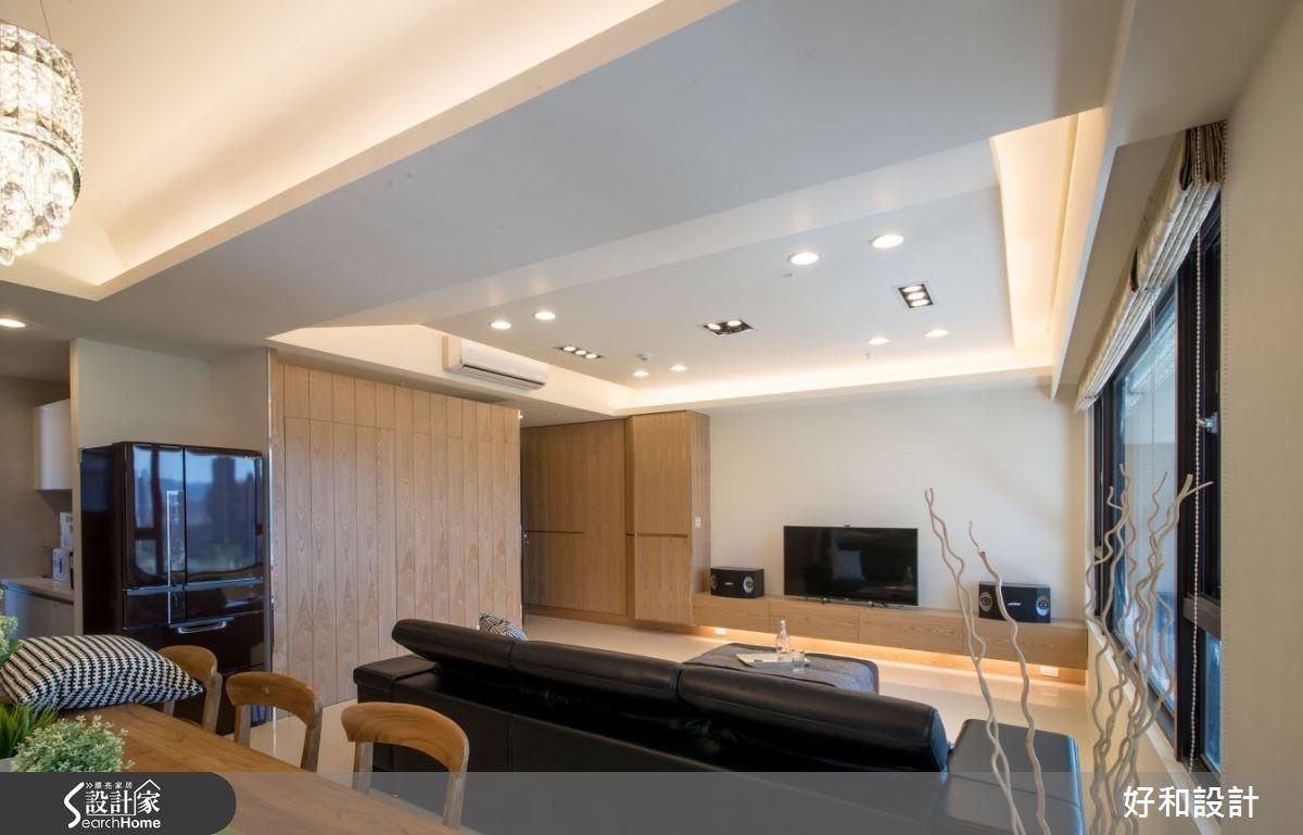 40坪新成屋(5年以下)_混搭風案例圖片_好和設計_好和_04之3