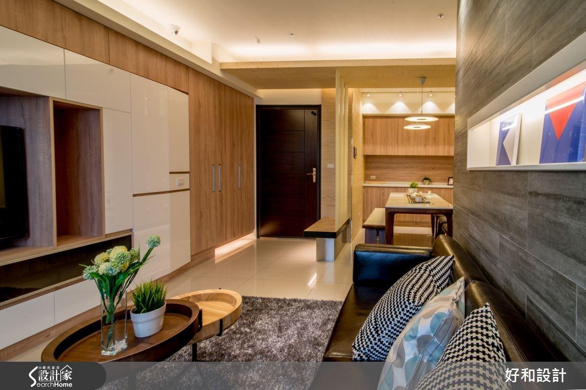 28坪預售屋_混搭風案例圖片_好和設計_好和_05之1