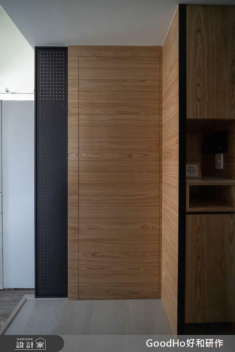 20坪新成屋(5年以下)_現代風玄關案例圖片_好和設計_好和_GOOD LAND美地之1