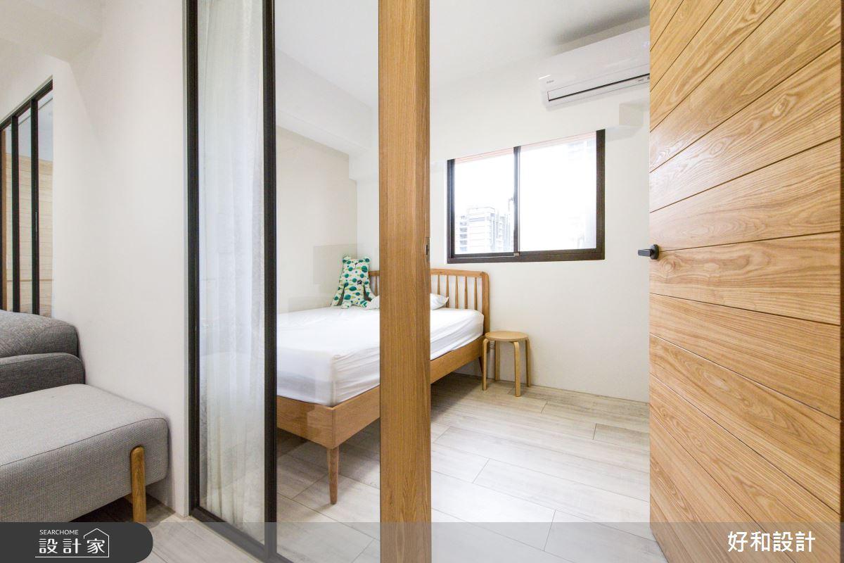 18坪老屋(16~30年)_日式無印風臥室案例圖片_好和設計_好和_煦沐之14