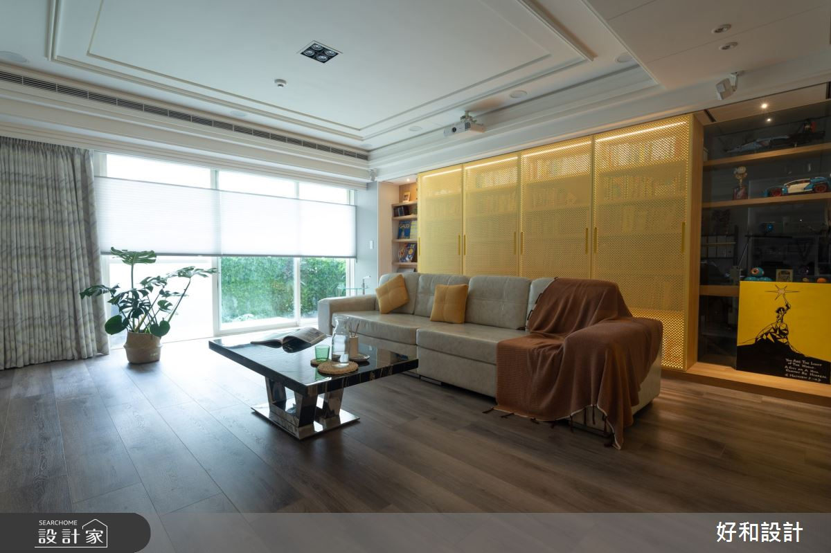 40坪老屋(31~40年)_北歐風客廳案例圖片_好和設計_好和_Eden/伊甸之3