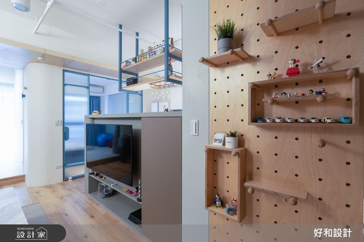 12坪新成屋(5年以下)_北歐風案例圖片_好和設計_好和_日日之3