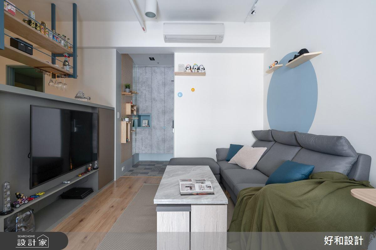 12坪新成屋(5年以下)_北歐風案例圖片_好和設計_好和_日日之4