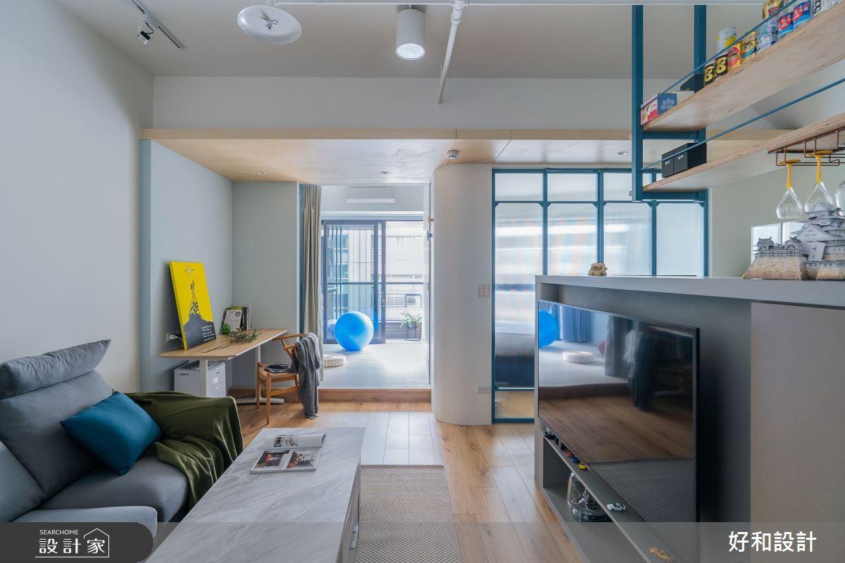 12坪新成屋(5年以下)_北歐風案例圖片_好和設計_好和_日日之5