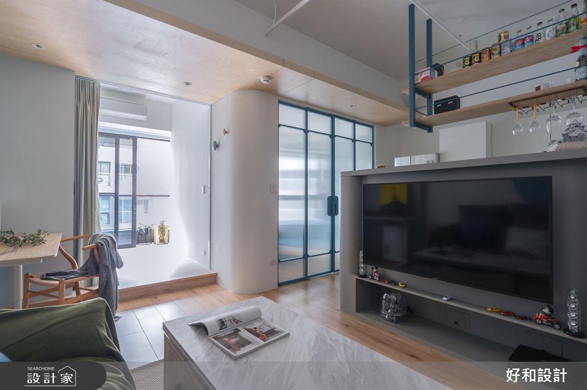 12坪新成屋(5年以下)_北歐風案例圖片_好和設計_好和_日日之6