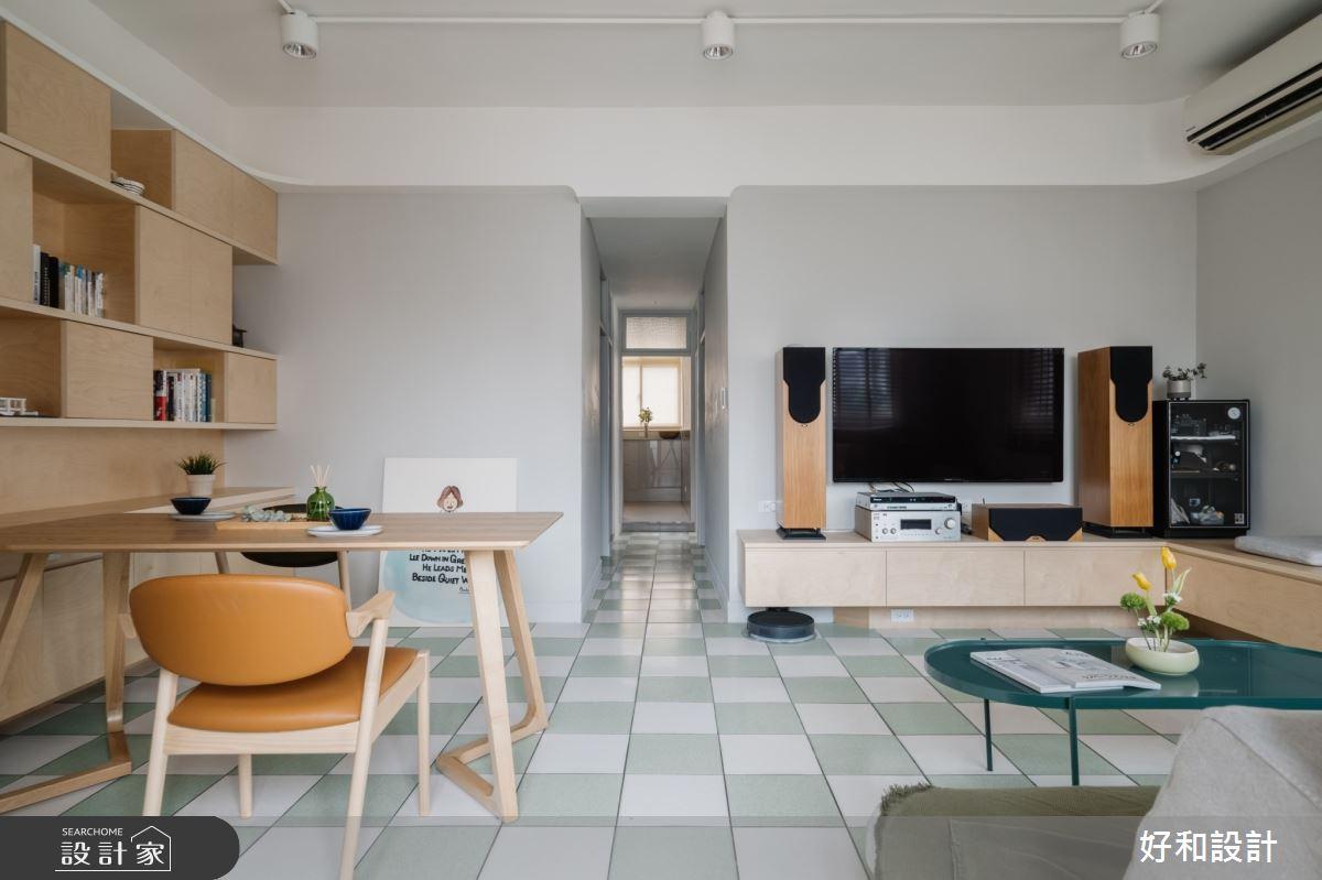 20坪老屋(41~50年)_混搭風案例圖片_好和設計_好和_咖啡之屋之1