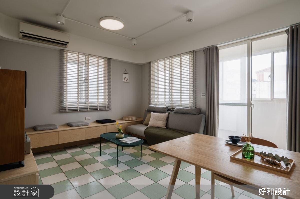 20坪老屋(41~50年)_混搭風案例圖片_好和設計_好和_咖啡之屋之3