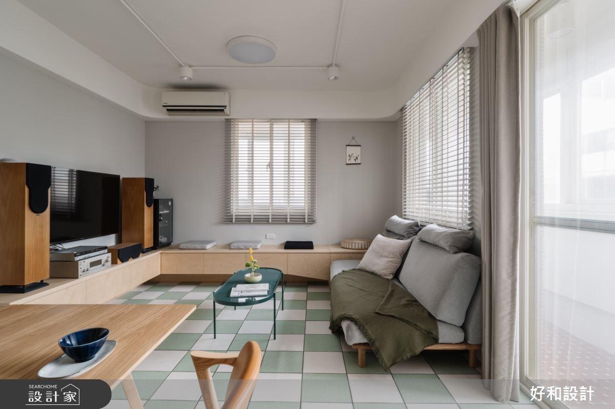 20坪老屋(41~50年)_混搭風案例圖片_好和設計_好和_咖啡之屋之4