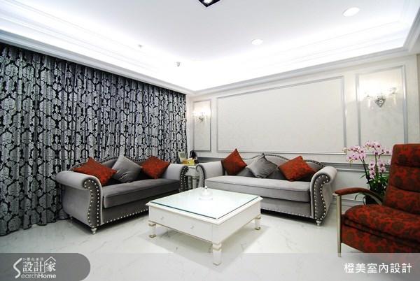 35坪預售屋_新古典案例圖片_橙美室內設計_橙美_04之3
