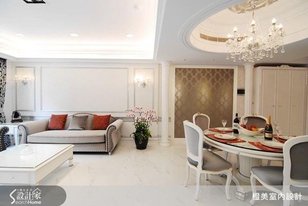35坪預售屋_新古典案例圖片_橙美室內設計_橙美_04之4