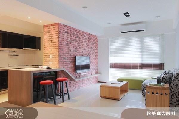 30坪新成屋(5年以下)_現代風案例圖片_橙美室內設計_橙美_08之2