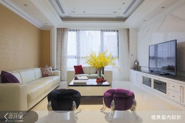 35坪新成屋(5年以下)_新古典案例圖片_橙美室內設計_橙美_10之2