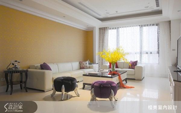 35坪新成屋(5年以下)_新古典案例圖片_橙美室內設計_橙美_10之1